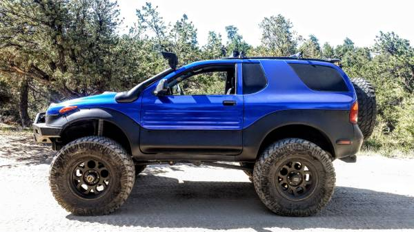 Used Lifted Trucks For Sale >> ISUZU Vehicross 1999 4x4 Lifted 37 Inch Tires and Solid Axle Swapped