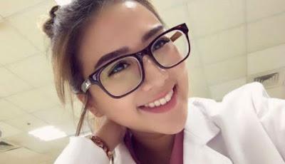 Kerap Tampil Seksi, Perawat Cantik Ini Bungkam Netizen