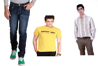 Buy Jeans with FREE T-Shirts for Rs.824 & Trousers with FREE Shirts for Rs.699