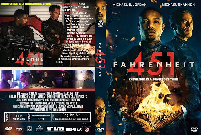 Fahrenheit 451 DVD Cover