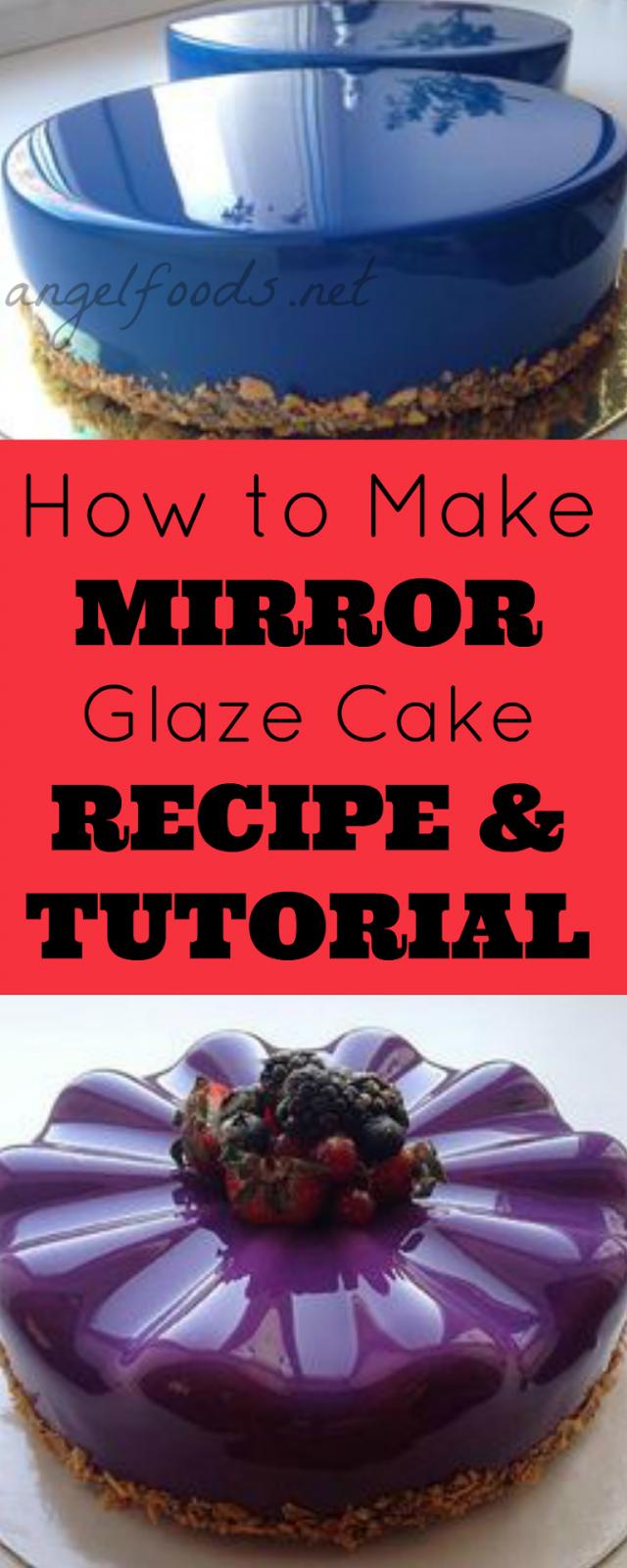 How Do U Make A Glaze For A Cake