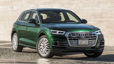 2017 Audi Q5 Luxury SUV Green