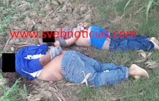 Dejan dos ejecutados amarrados de pies y manos en Cosamaloapan Veracruz