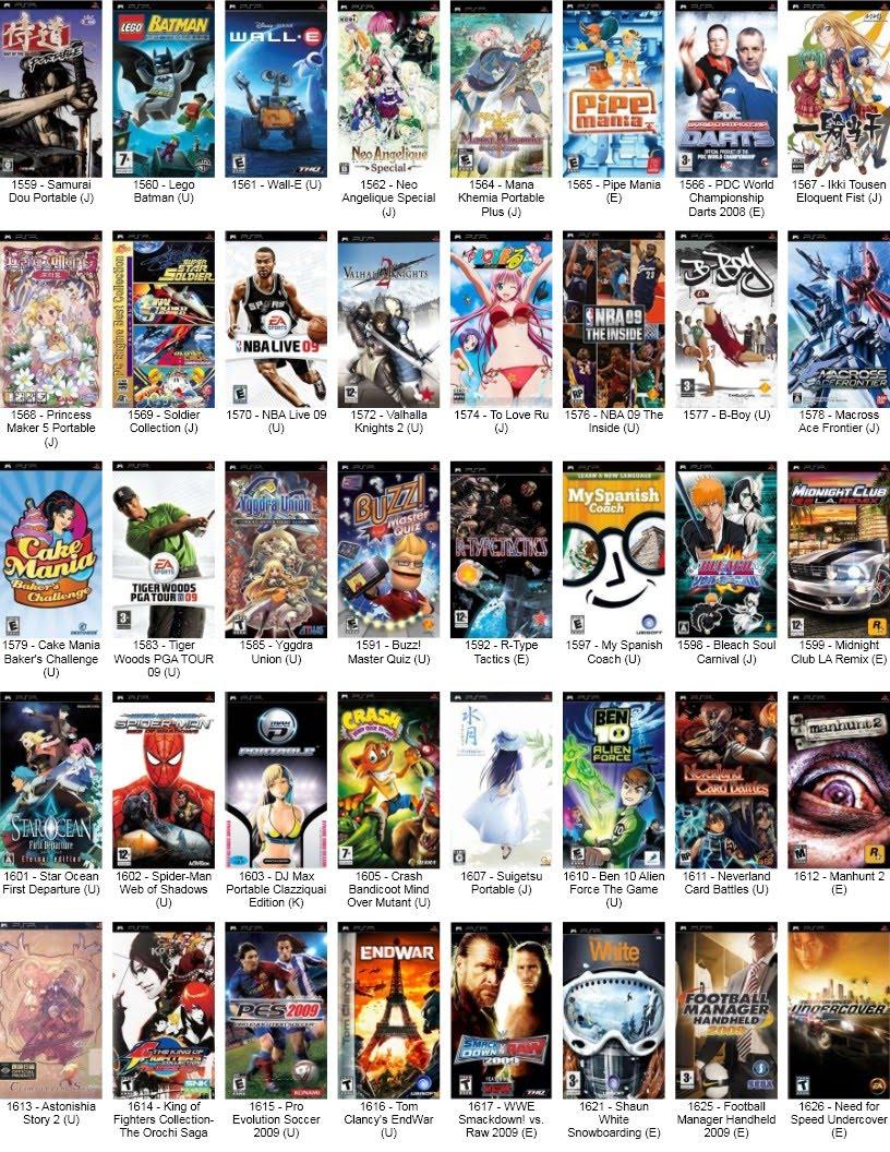 Download Free PSP Games