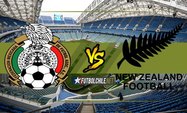 México vs Nueva Zelanda