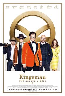 Kingsman: The Golden Circle in Cinemas September 20