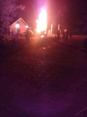 Terbakarnya Alat Berat Dinas PUBM PALI Serahkan Ke Pihak Kepolisian