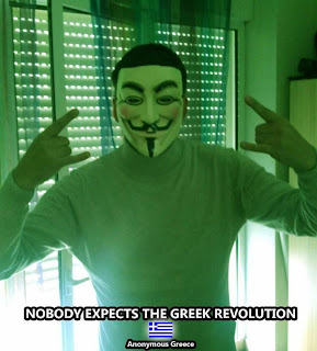 Nobody Expects The Greek Revolution! -Anonymous Greece