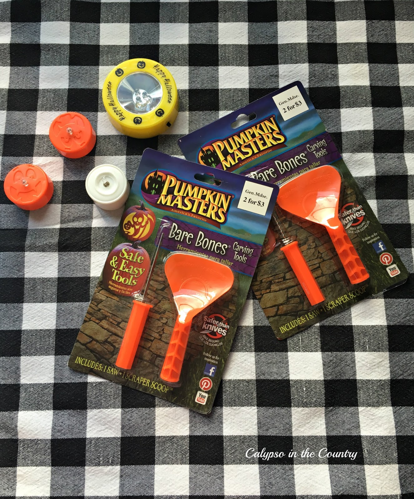 Fun Halloween Tradition - Pumpkin carving tools and accessories - Halloween goodie bag ideas