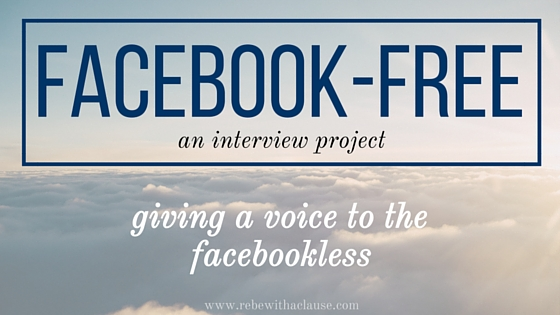 Facebook-free: giving a voice to the facebookless