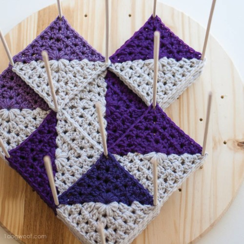 Modular Crochet Blocking Station - Tutorial