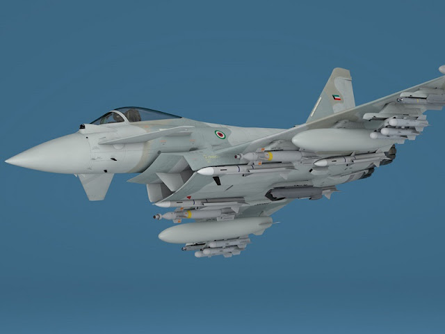 FINMECCANICA SIGNS A CONTRACT TO SUPPLY 28 EUROFIGHTER TO KUWAIT
