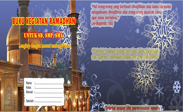 Download Gratis File Contoh Buku Kegiatan Bulan Ramadhan Siswa Sd Smp Dan Sma Terbaru Library Pendidikan
