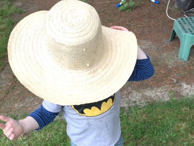 Auch Hut steht ihm gut!