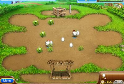 لعبة مزرعة الفراخ الجديدة