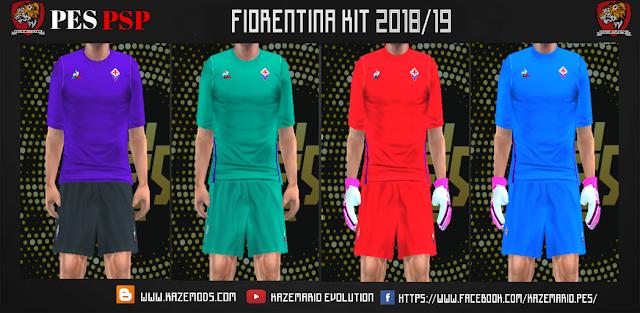 ab7afa57d18 Fiorentina 18/19 Kits PES PSP (PPSSPP)