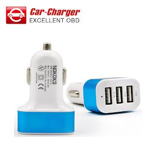 Car Charger Saver 3 Output