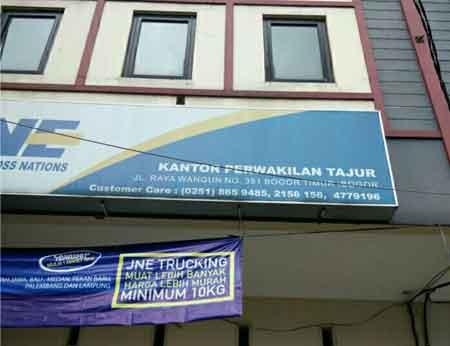 Telepon & Alamat Kantor Cabang JNE Bogor