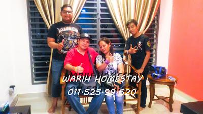 Warih-Homestay-Pn-Qaseh-Sekeluarga