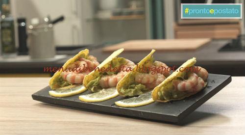 Pronto e postato - Tacos con salsa maiocado ricetta Benedetta Parodi