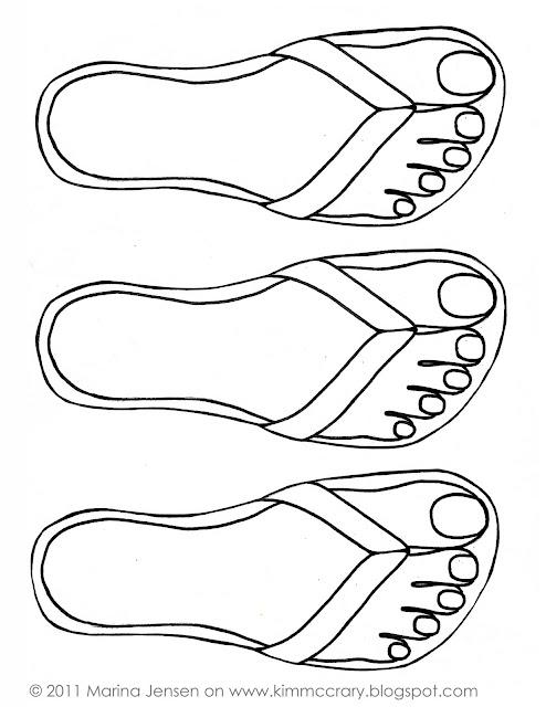 Little Girls Flip Flops