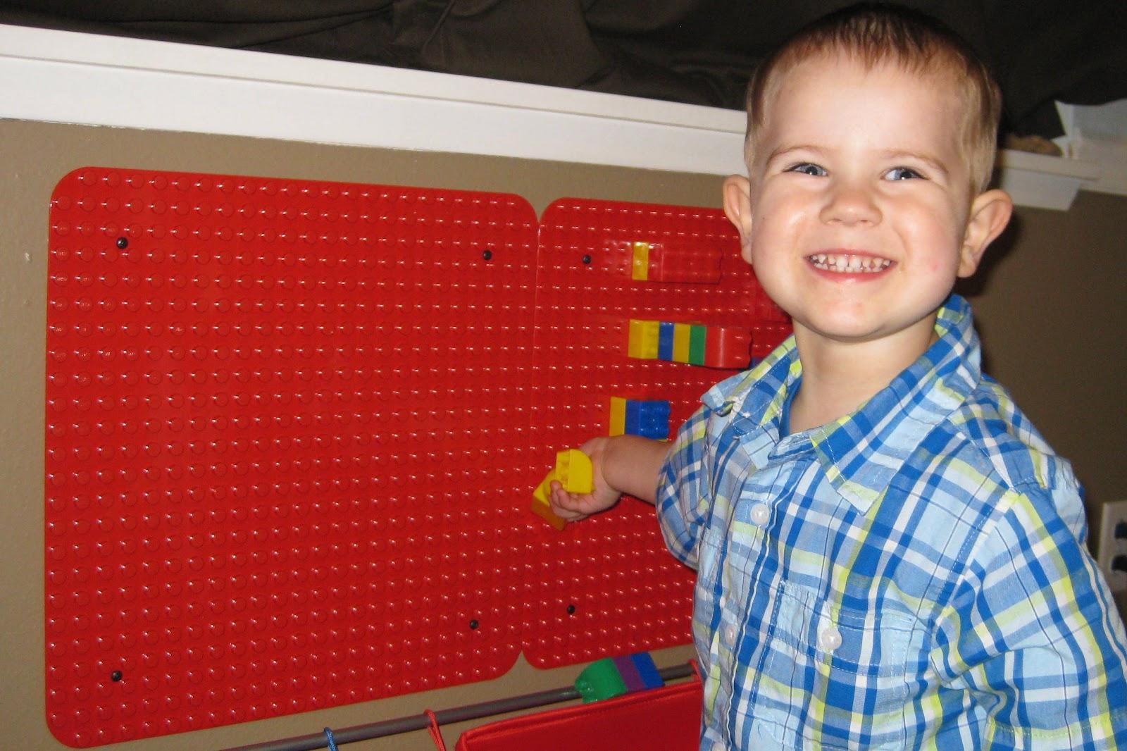Gideon S Travels Lego Duplo Wall