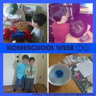 Homeschool Week 28
