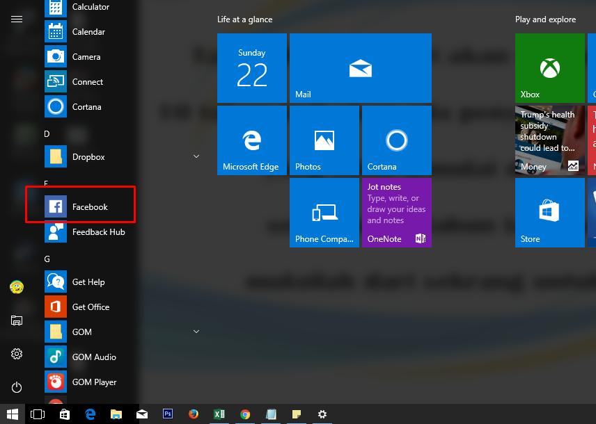 Cara Menampilkan Aplikasi Di Layar Laptop Windows 10
