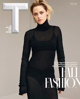 Kristen Stewart covers The New York Times Style Magazine. talks about dating Robert Pattinson. Details at JasonSantoro.com