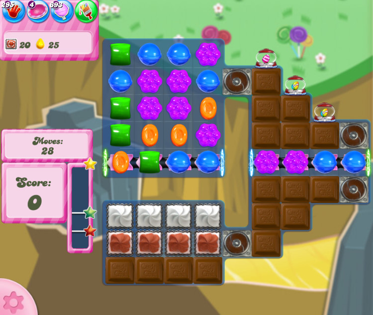 Candy Crush Saga level 2850