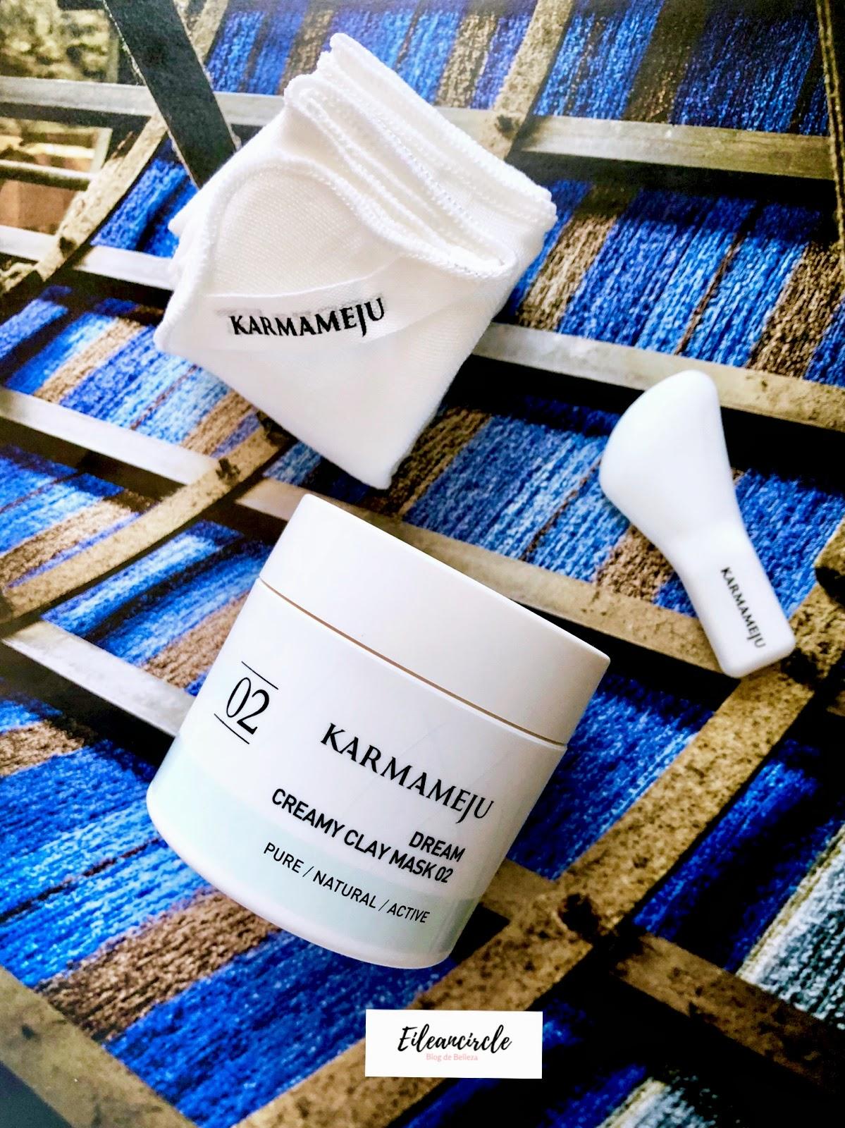 Karmameju, cosmética nicho, mascarilla, arcilla, piel sensible