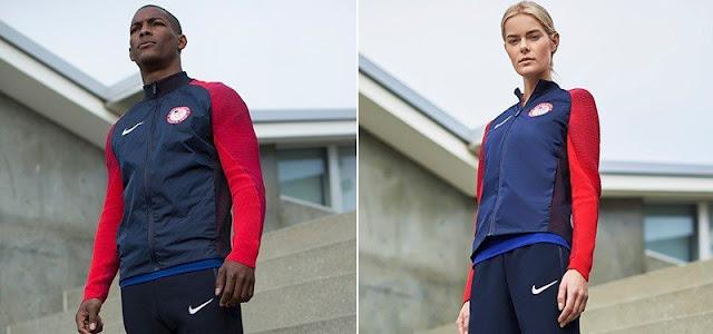 Nike presenta los uniformes de podium de los americanos