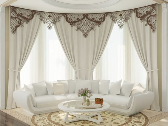 40 Modern Curtain Design Ideas For Living Room Window 2019