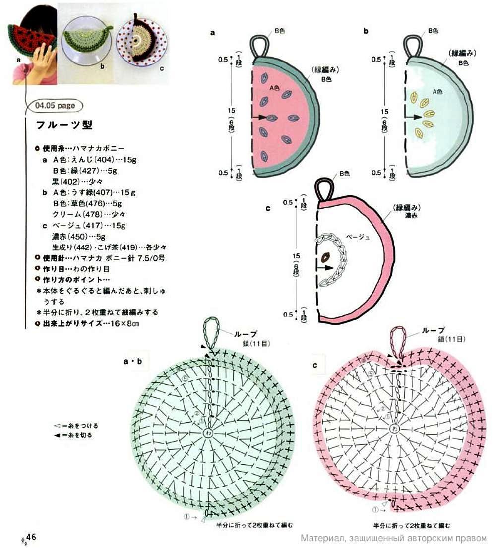 Motivos Apliques Miscelania de Crochet