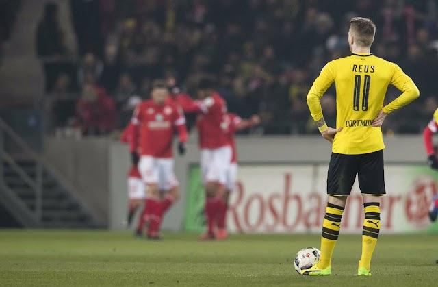 Mais uma decepção na conta do Borussia Dortmund