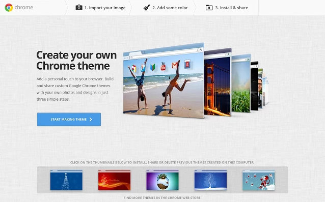 كيف تقوم بتصميم ثيم خاص بك لمتصفح جوجل كروم