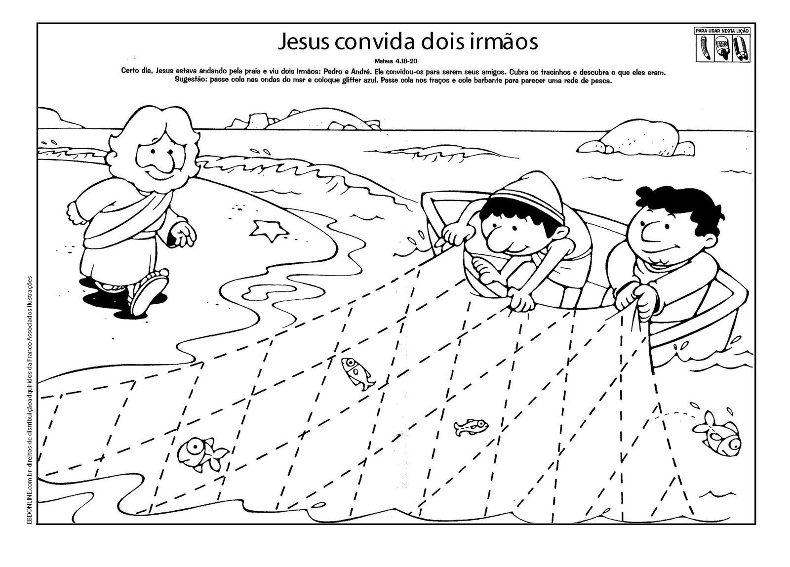 Pastor Fernando Ramos Desenhos Biblicos Para Imprimir E Colorir