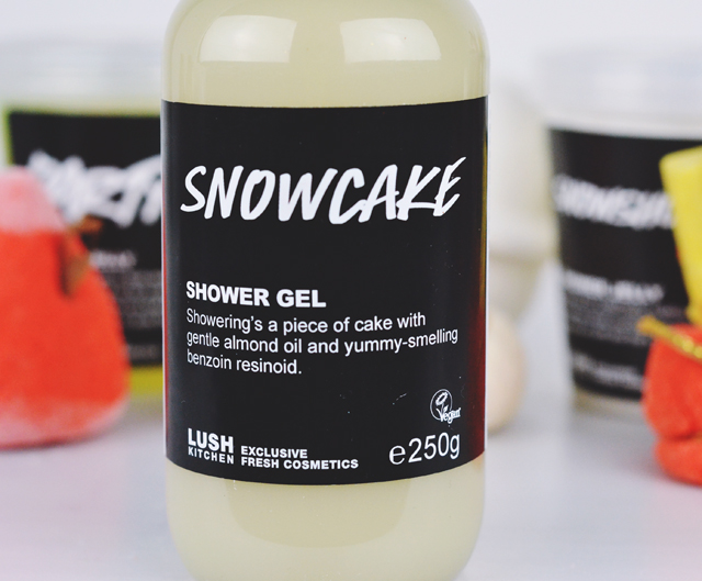 Lush Snowcake Shower Gel