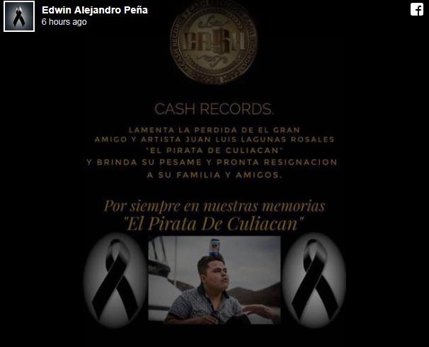 Borderland Beat: Pirata de Culiacan reported shot dead in a