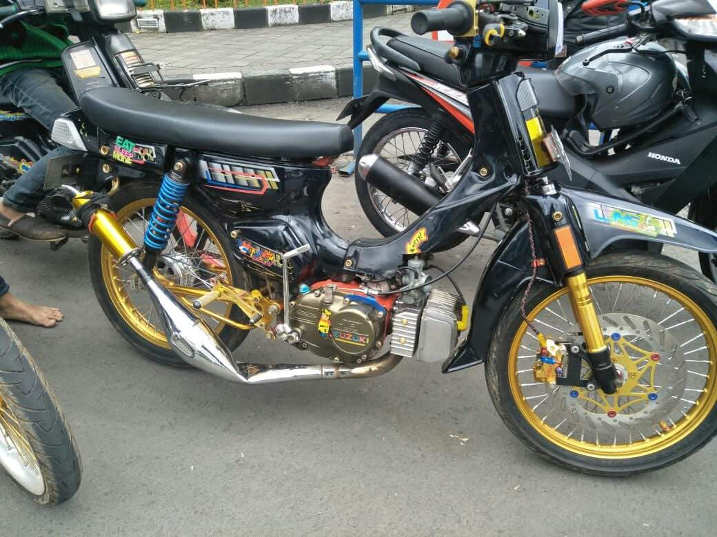 Modifikasi Motor Suzuki Jet Cool Wacana Modif Motor