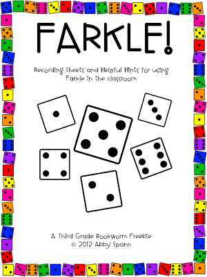 Find my Farkle printables on TpT!