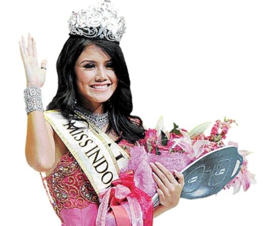 Ines Putri Tjiptadi Chandra Pemenang Miss Indonesia 2012