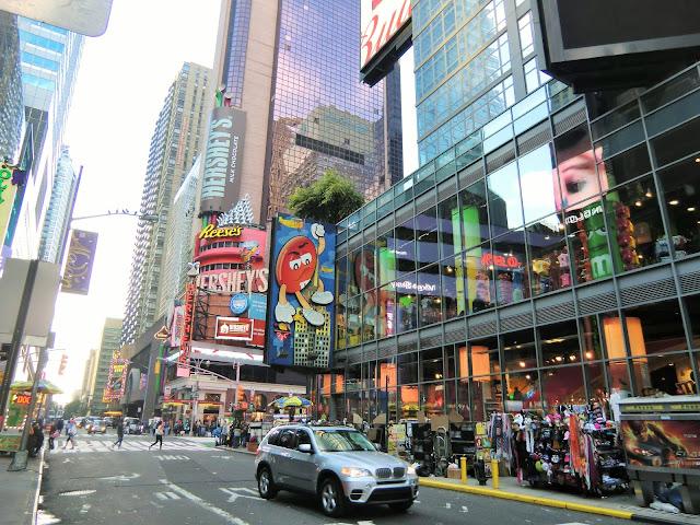 shop M&M's Times Square Manhattan New-York City