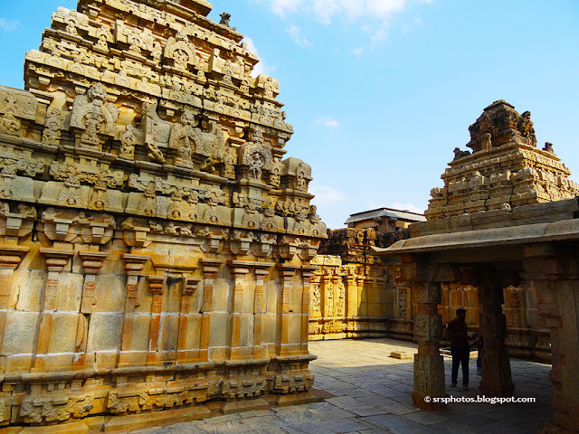 Bhoga Nandeeshwara Temple - Back Side View, Chikkaballapur, Bangalore