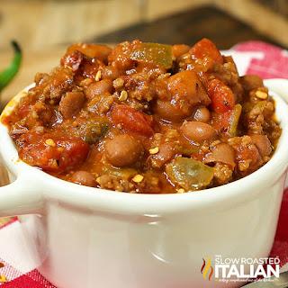 5 Ingredient Homemade Chili