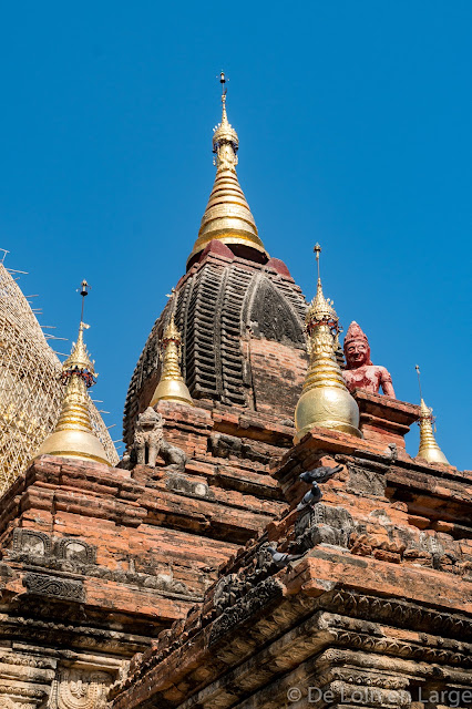 Pagode Dhammayazaka Zedi - Bagan - Birmanie Myanmar