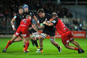Crusaders derrotó a Jaguares en Christchurch