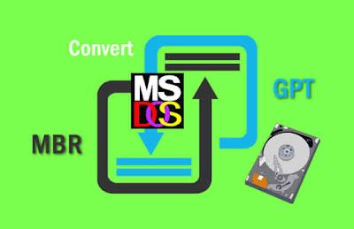 Cara Ubah Harddisk MBR ke GPT Melalui DOS