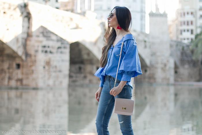 Inluencer blogger moda belleza Valencia fotografias en el rio Turia