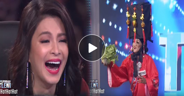 Angel Locsin Can't Stop Laughing At Joel Pedrigal's Lip Sync Performance!